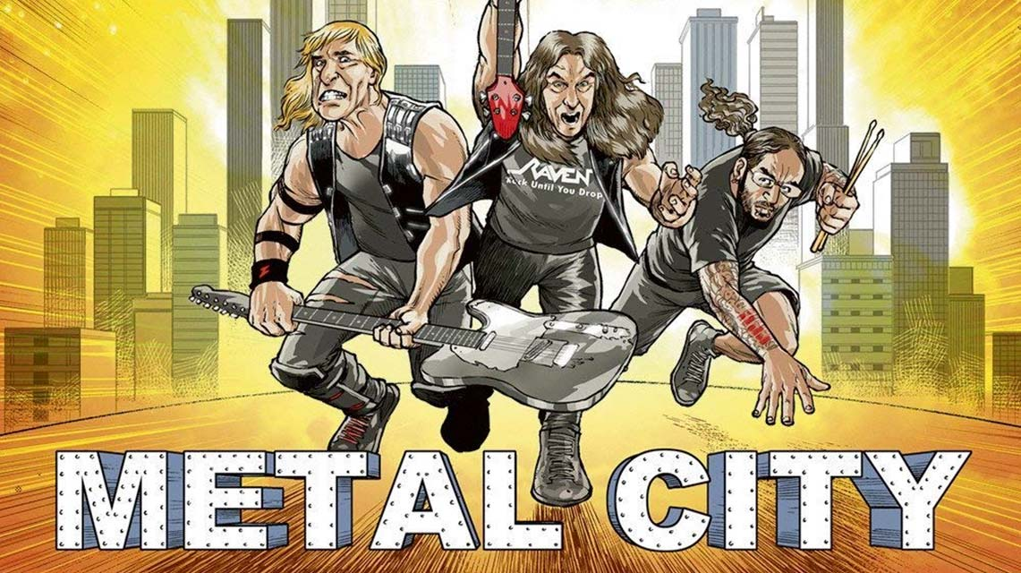 Raven: Metal City // Steamhammer