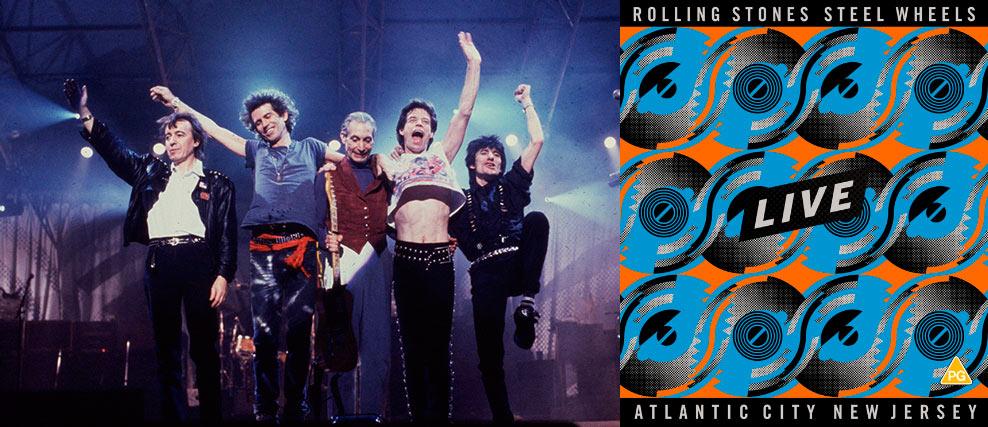 «Steel Wheels Live» el nuevo directo de The Rolling Stones