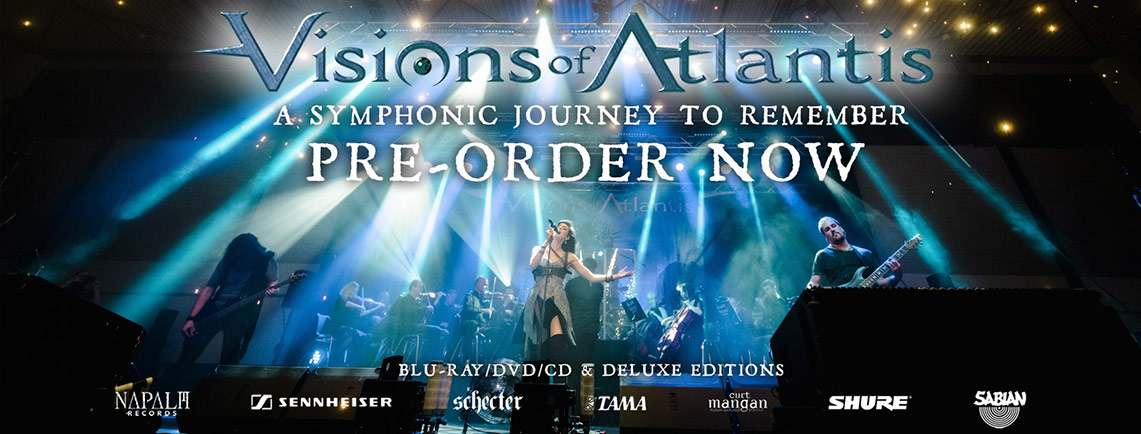 Visions of Atlantis: A Symphonic Journey to Remember // Napalm Records