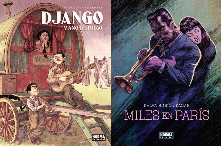 Leyendas del Jazz en Norma Editorial