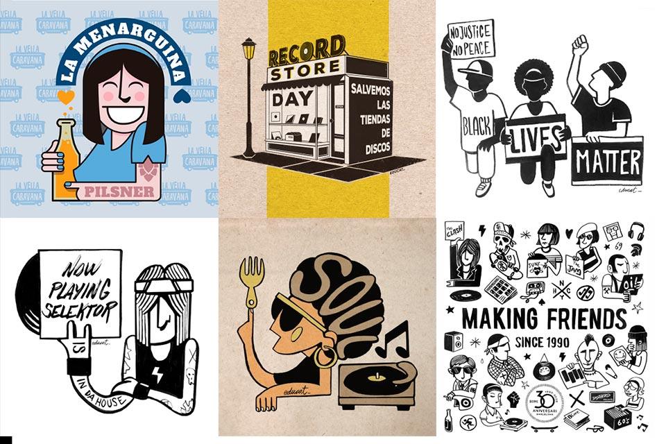 Entrevista al diseñador/ilustrador Edu Blasi