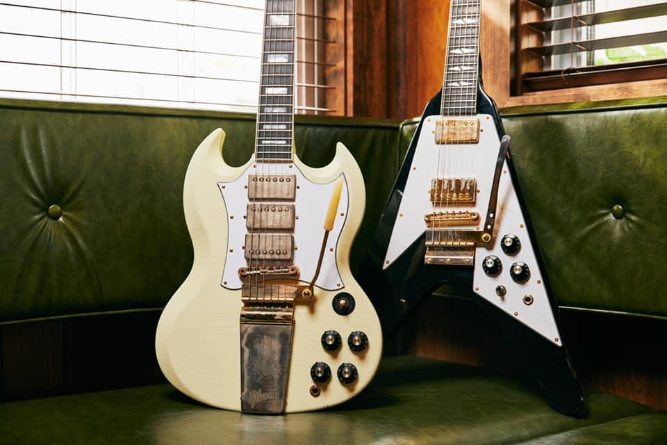 Gibson lanza dos guitarras inspiradas en Jimi Hendrix
