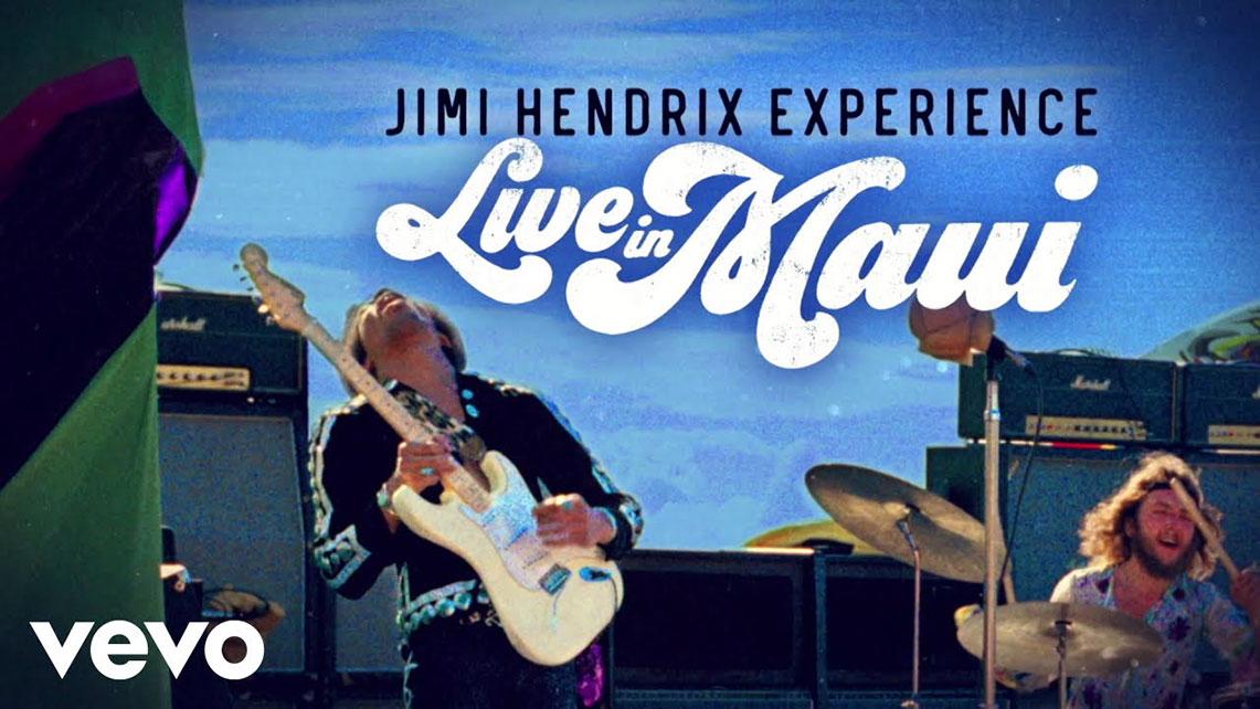 «Music, Money, Madness. . . Jimi Hendrix In Maui» este viernes a la venta