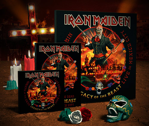 Iron Maiden: Nights of the dead - Legacy of the Beast - Live in Mexico City // Parlophone