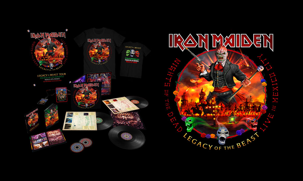 Iron Maiden: Nights of the dead – Legacy of the Beast – Live in Mexico City // Parlophone