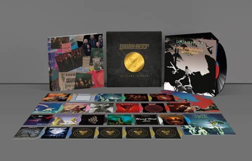 Detalles de la caja deluxe para celebrar los 50 años de Uriah Heep