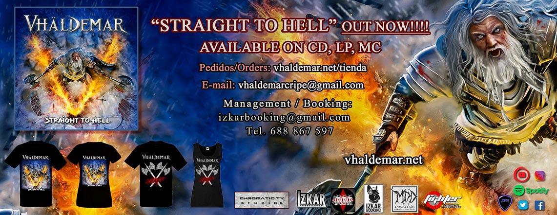 Vhäldemar: Straight To Hell // Fighter Records