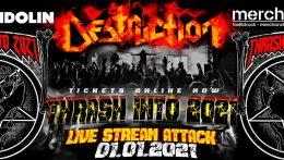 """Destruction comienza el año con """"Live Stream Attack"""""""