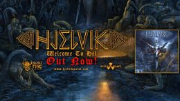 Hjelvik: Welcome to hel // Nuclear Blast