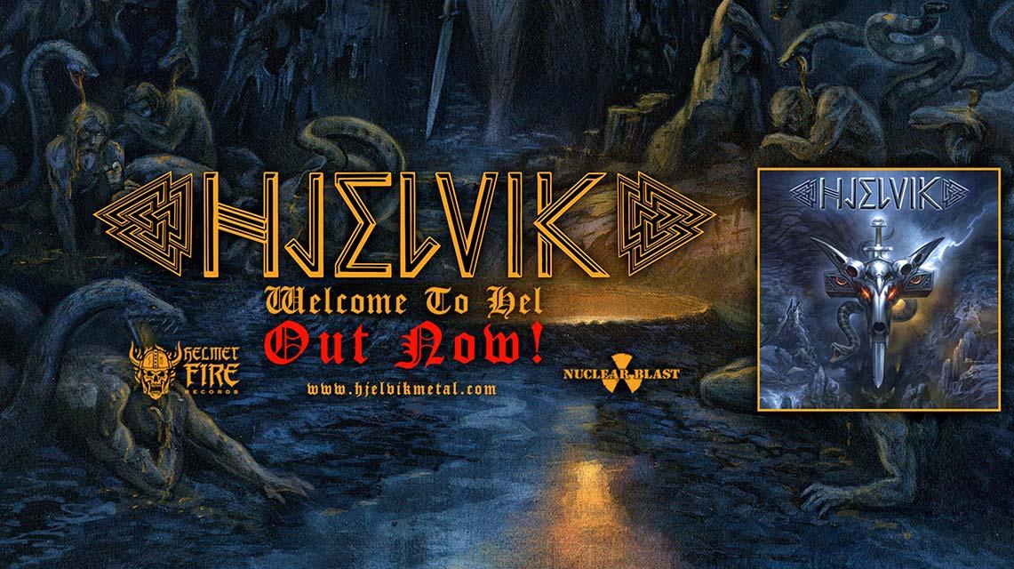 Hjelvik: Welcome to hel // Nuclear Blast