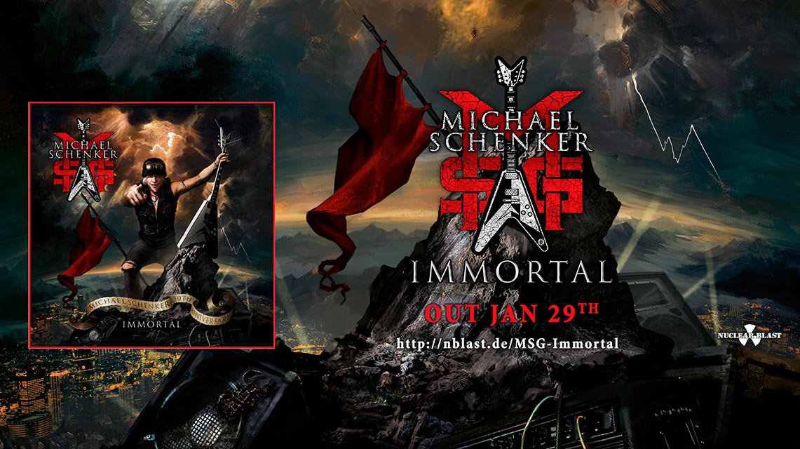 Michael Schenker Group: Immortal // Nuclear Blast
