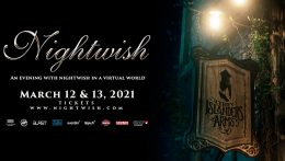 """An Evening with Nightwish in a Virtual World"" para Marzo de 2021"