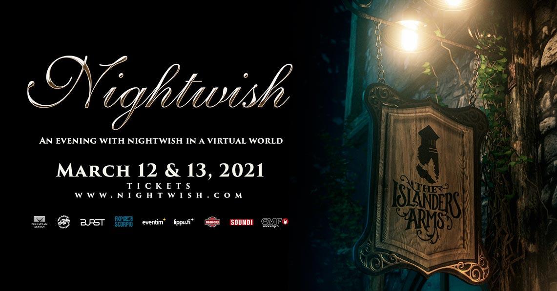 «An Evening with Nightwish in a Virtual World» para Marzo de 2021