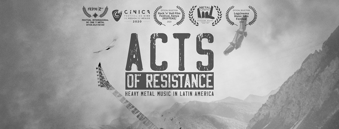 Acts of Resistance: Heavy Metal Music in Latin America -VVAA