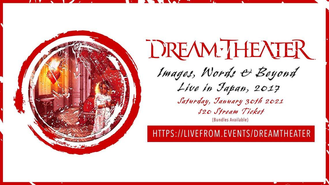 Este Sábado streaming de Dream Theater
