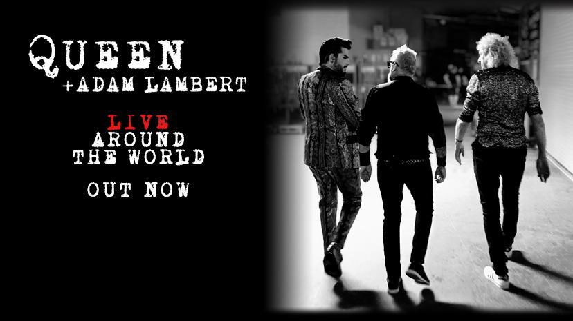 QUEEN + Adam Lambert: Live around the world // EMI Music