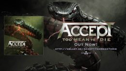 Accept: Too Mean to Die // Nuclear Blast
