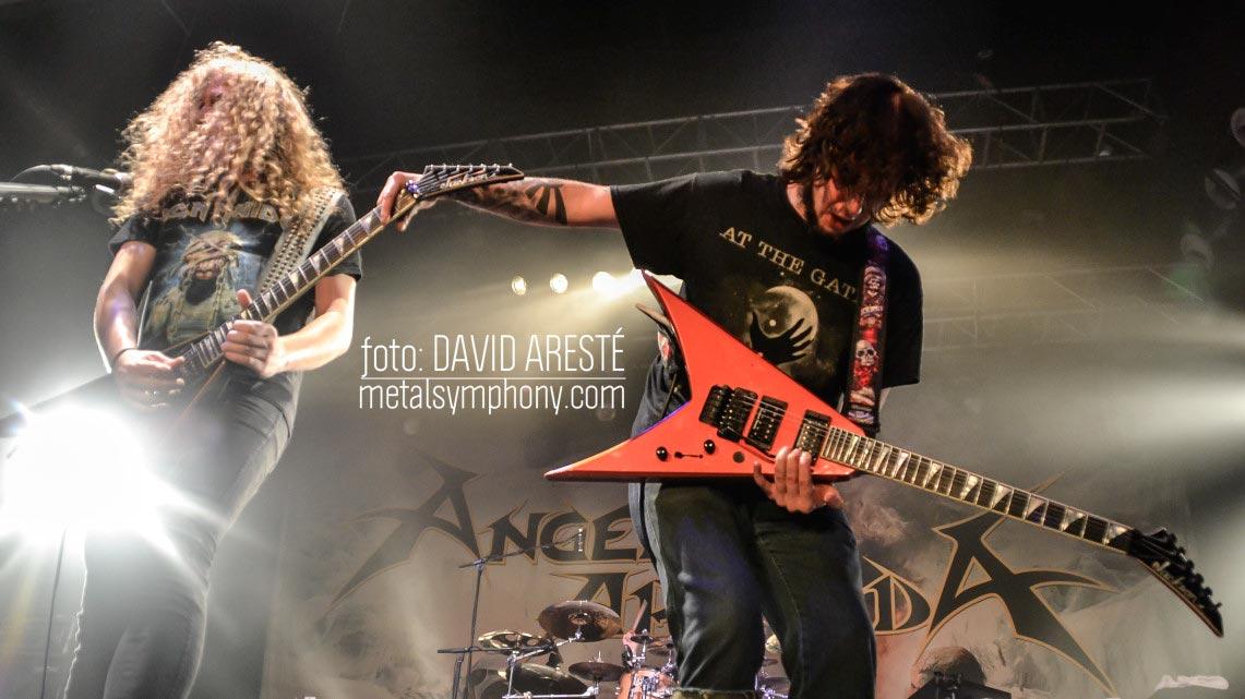 Angelus Apatrida #1 de ventas en España, concierto en Madrid