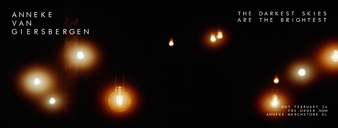 Anneke Van Giersbergen : The Darkest Skies Are The Brightest // Inside Out Music