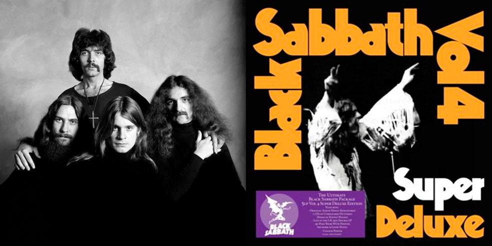 Detalles del «Vol.4» remasterizado de Black Sabbath