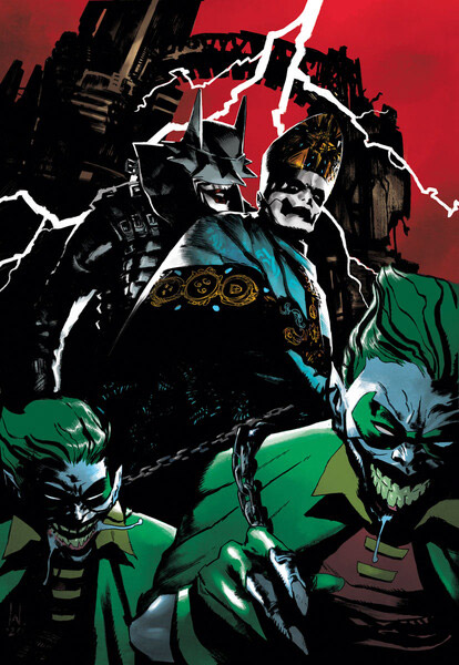"DC Comics edita ""Dark Nights: Death Metal – Band Edition"""