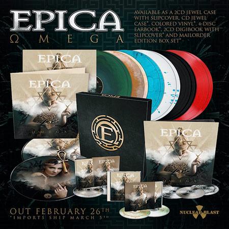 Epica: Omega // Nuclear Blast