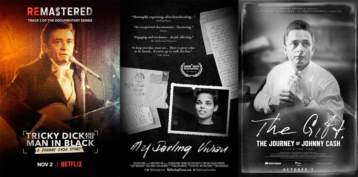 3 documentales sobre la vida de Johnny Cash