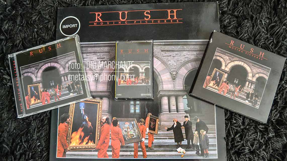 «Moving Pictures» de Rush cumple 40 años