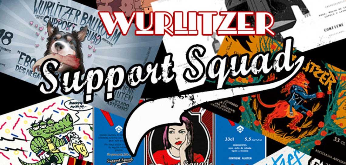 Ayuda al Wurlitzer Support Squad