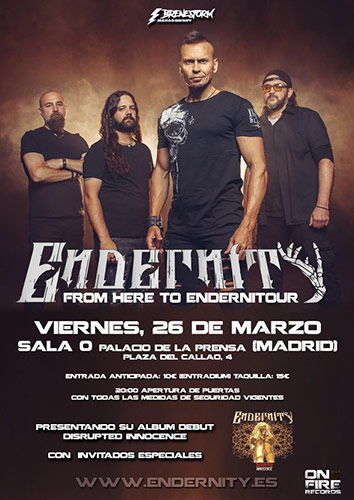 """On Fire presenta el ciclo de conciertos """"El metal Es Seguro"""""""