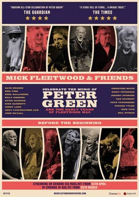 Mick Fleetwood & Friends se estrenará en Streaming