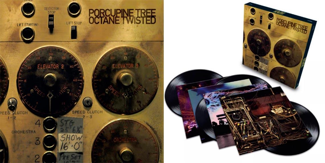 «Octane Twisted» de Porcupine Tree ya en vinilo