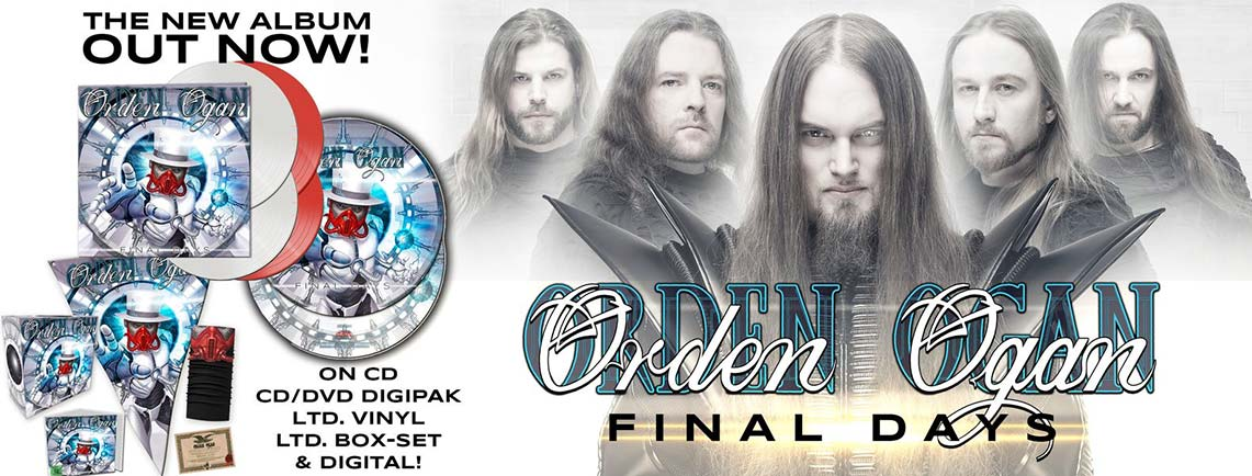 Orden Ogan: Final Days // AFM Records