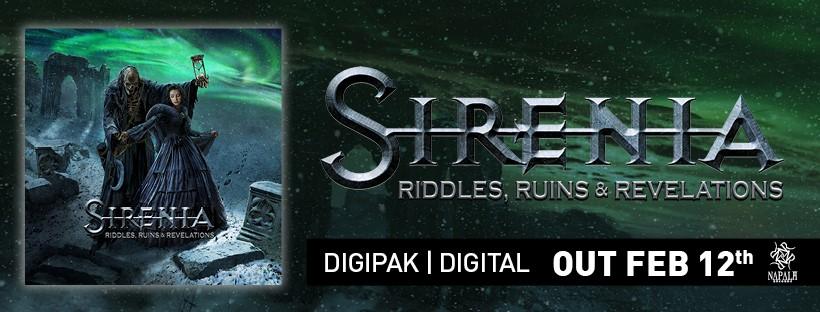 Sirenia: Riddles, Ruins & Revelations // Napalm Records