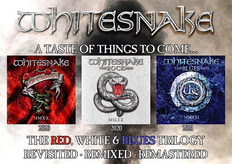 Whitesnake : The Blues Album MMXXI // Rhino Records