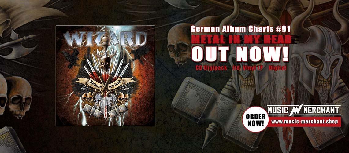 Wizard: Metal In My Head // Massacre Records