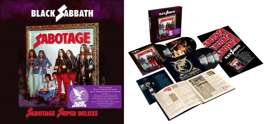 «Sabotage» de Black Sabbath en edición de lujo