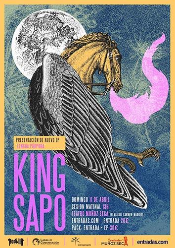 Entrevista a Javi y Jesús de King Sapo sobre Lengua Púrpura
