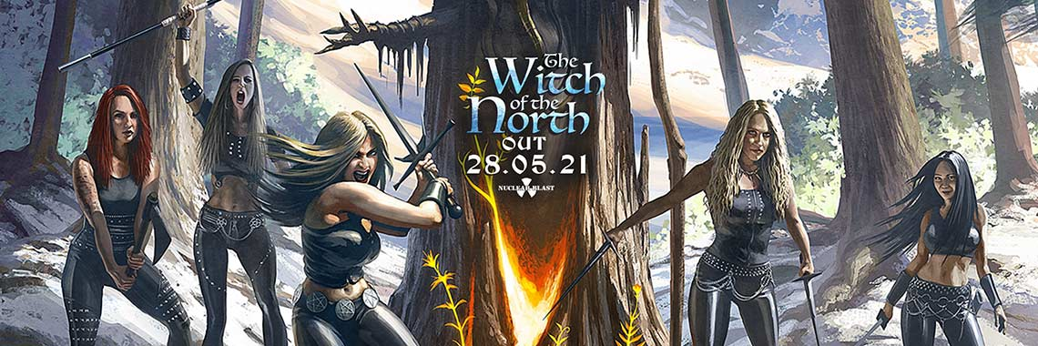 Burning Witches: The Witch of the North // Nuclear Blast