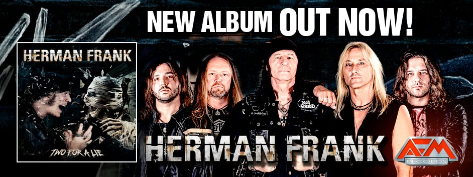 Herman Frank: Two For a Lie // AFM Records
