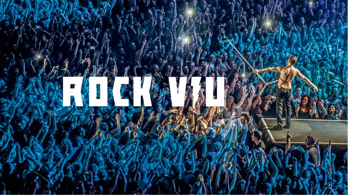 Rock Viu, la exposición de Xavi Mercadé en Palau Robert