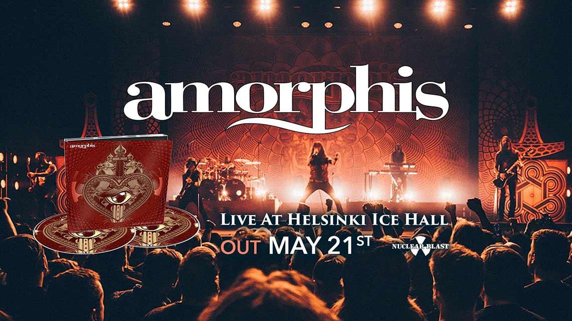 Amorphis: Live at Helsinki Ice Hall // Nuclear Blast