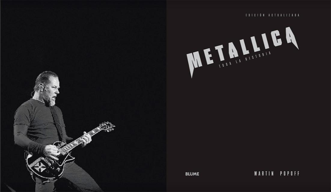 La historia ilustrada de Metallica, por Martin Popoff