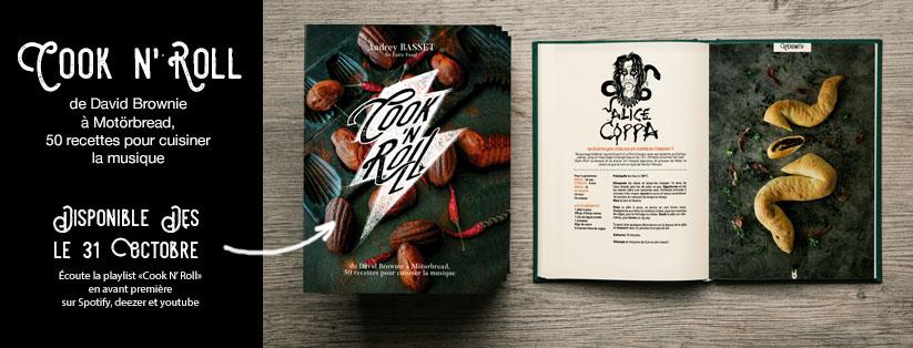 Cook'n'Roll, rock y gastronomía según Audrey Basset