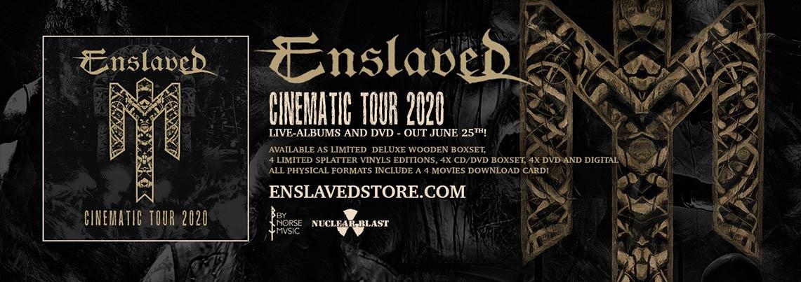 Enslaved: Cinematic Tour 2020 // Nuclear Blast