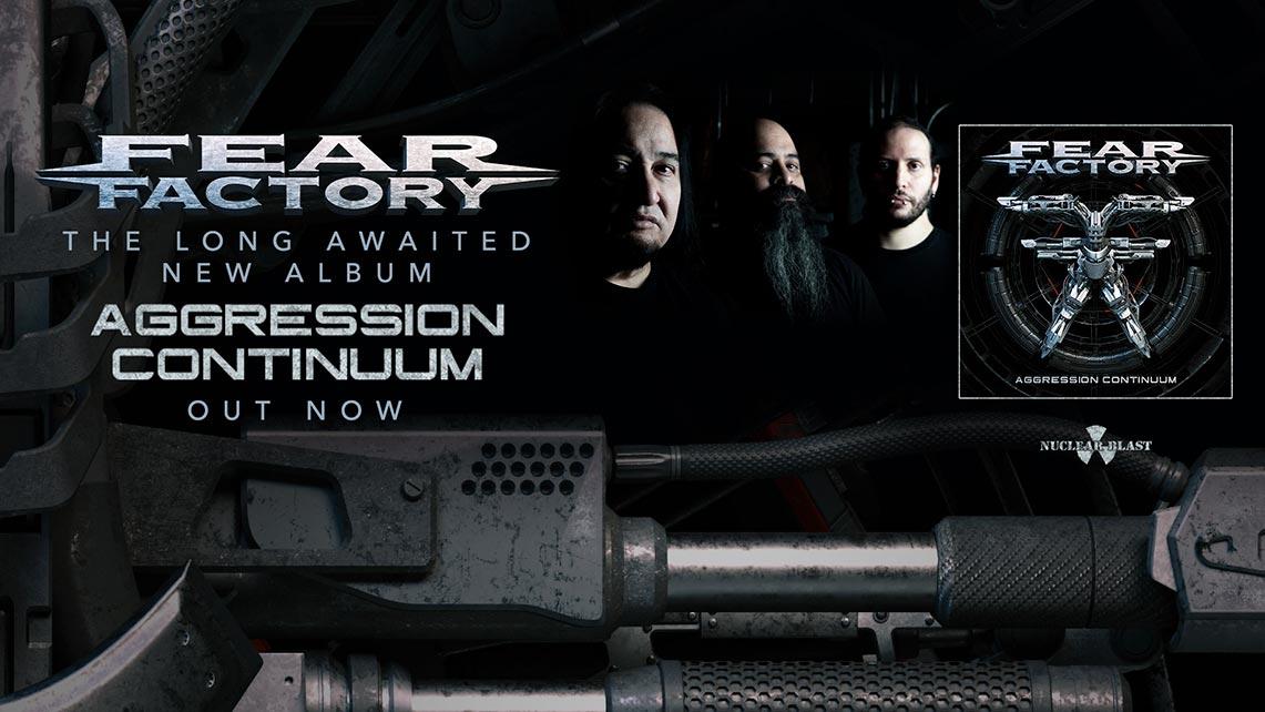 Fear Factory: Aggression Continuum // Nuclear Blast