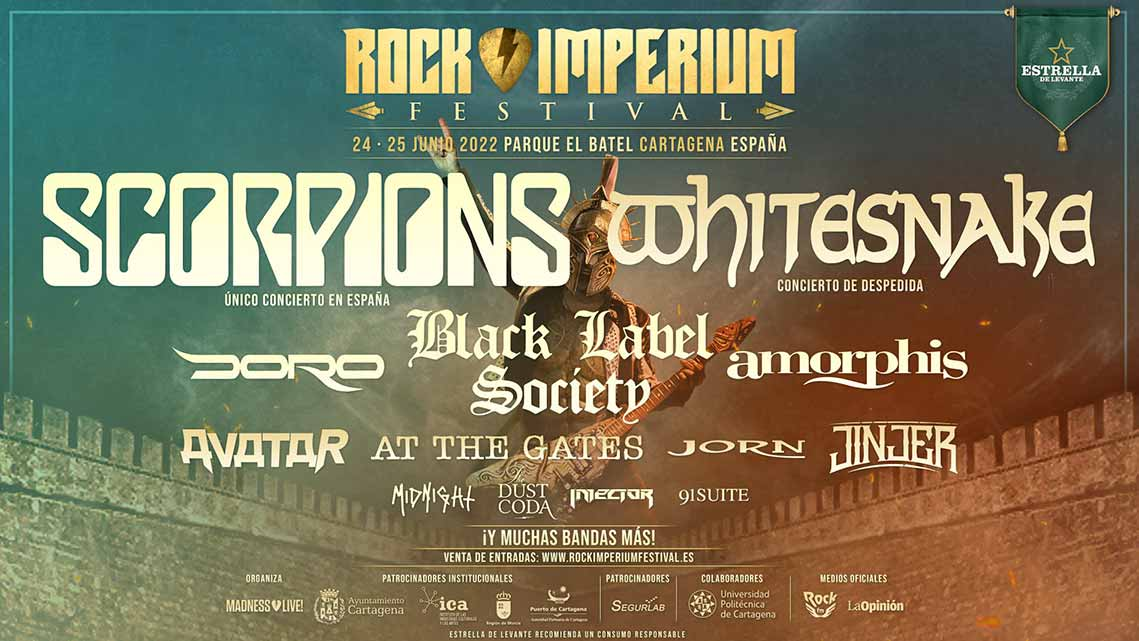 Rock Imperium Festival, fechas y primeras bandas confirmadas