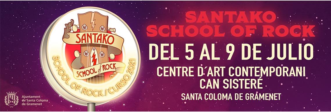 Hoy comienza una nueva edición de la Santako School of Rock