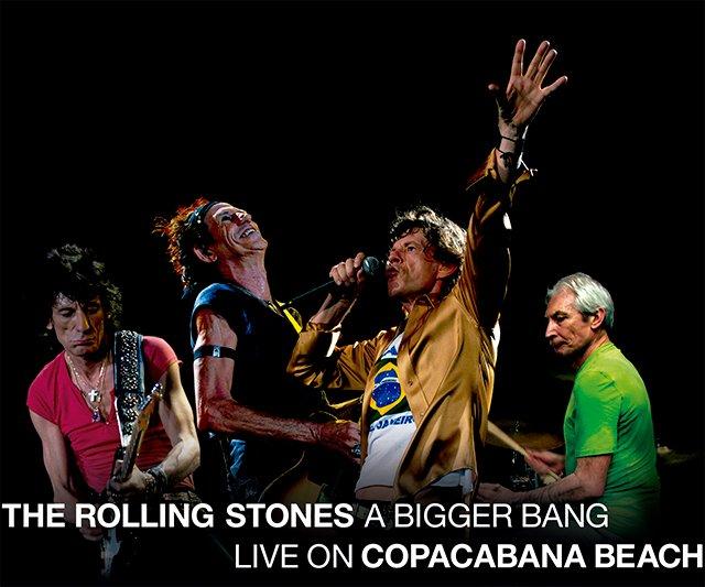 Nuevo directo de The Rolling Stones desde Copacabana