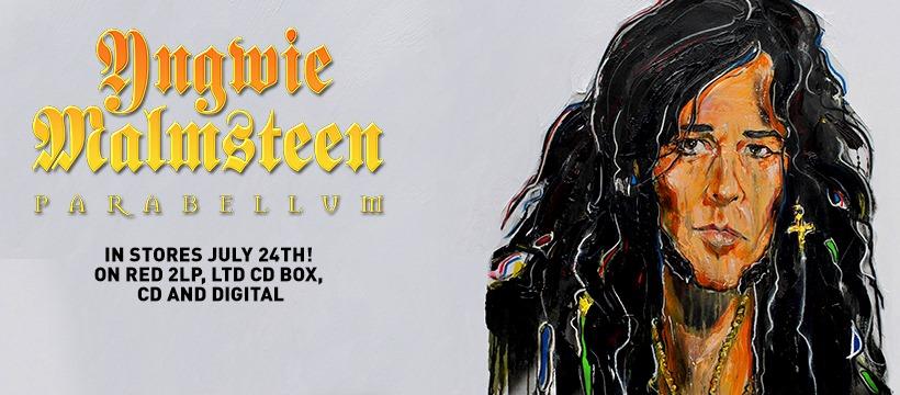 Yngwie Malmsteen: Parabellum // Mascot Records